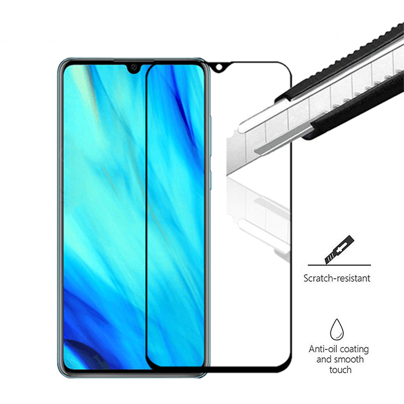 9H Tempered Glass For Huawei P30 lite light case 2.5D Full Cover Screen Protective Glass For Huawei nova 4e glass on huavei p 30