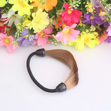 Modeling Elastic Hair Bands Scrunchy Hair Accessories For Women Prefect Rubber Bands