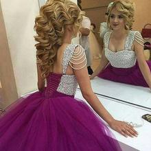 kejiadian 2019 style ball gown purple 16 prom dresses