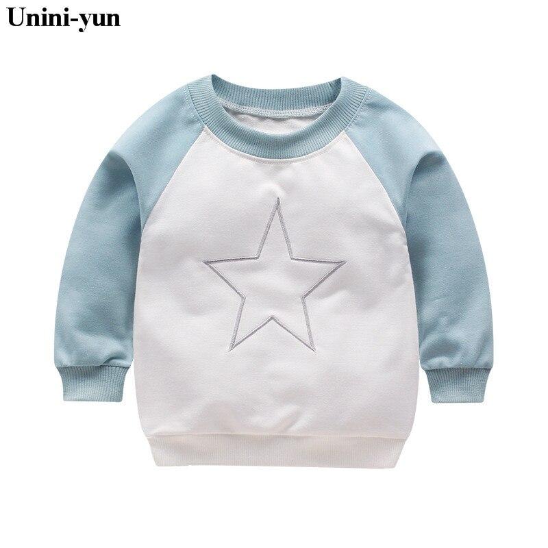 80-110cm Fashion Printing Kids Girls Sweatshirt Boys Cute Dinosaur Baby Hoodie Sweaters Spring Autumn Children Clothing