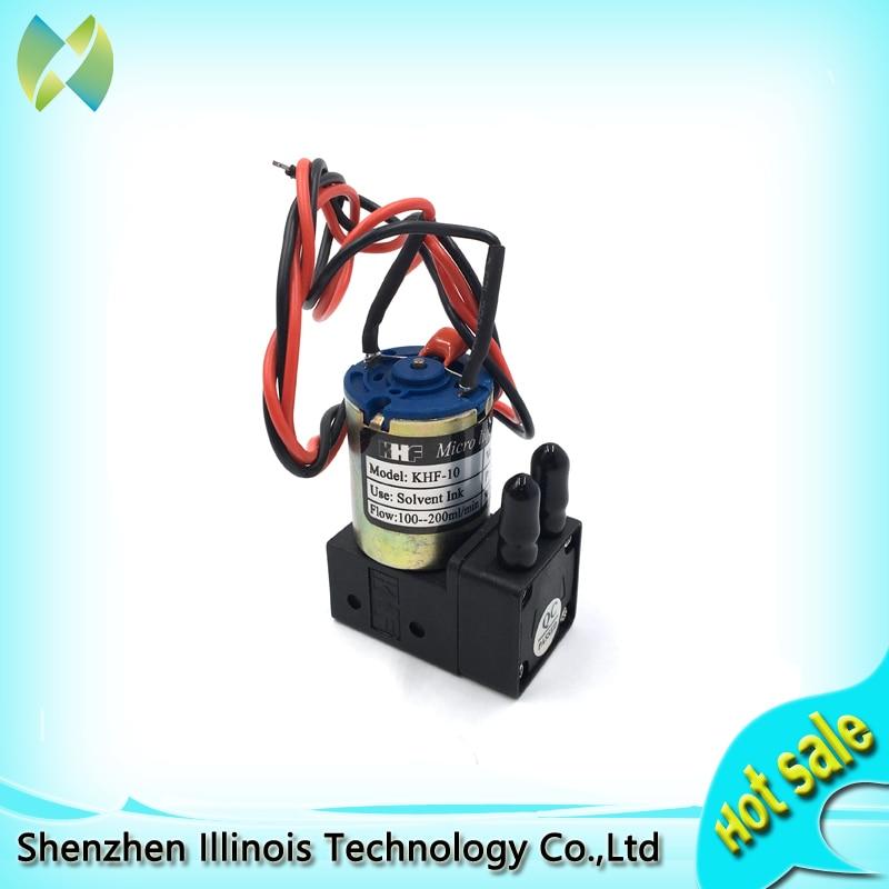 Petite pompe à encre pour imprimantes à jet d'encre Infiniti/cristaljet/Gongzheng (100-200 ml/min) pièces d'imprimante 24 V/3 W