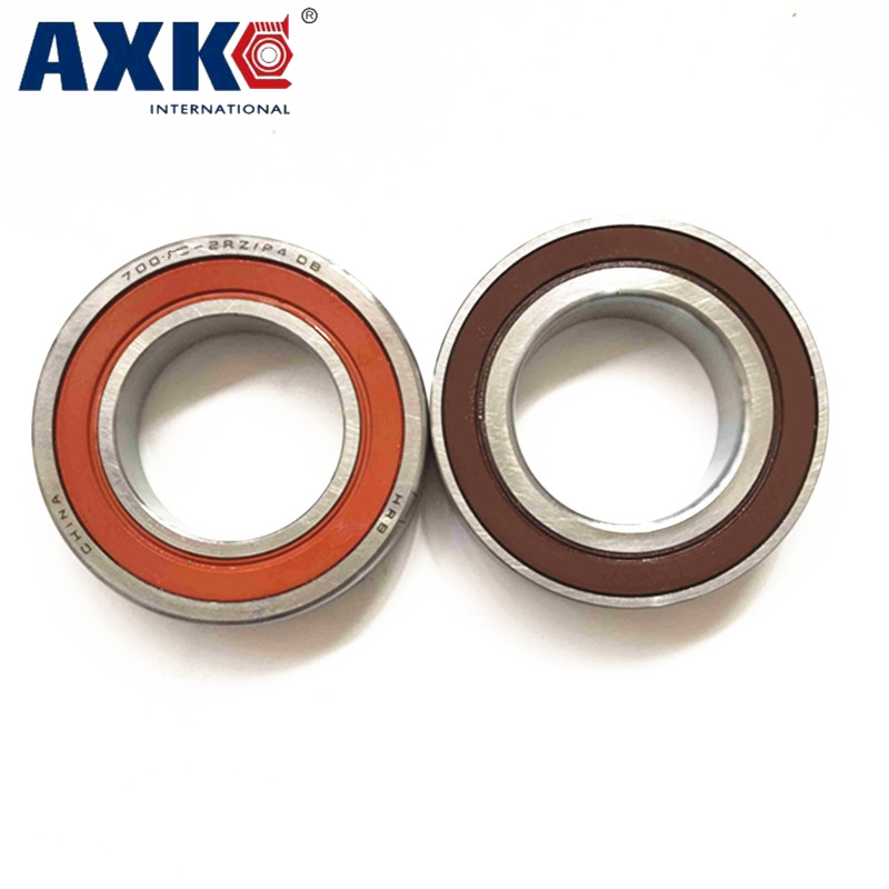 AXK 7008 7008C 2RZ HQ1 P4 DB A 40x68x15 *2 Sealed Angular Contact Bearings Speed Spindle Bearings CNC ABEC-7 SI3N4 Ceramic Ball zys precision high speed spindle bearings 7008c p5 7008 40mmx68mmx15mm abec 5