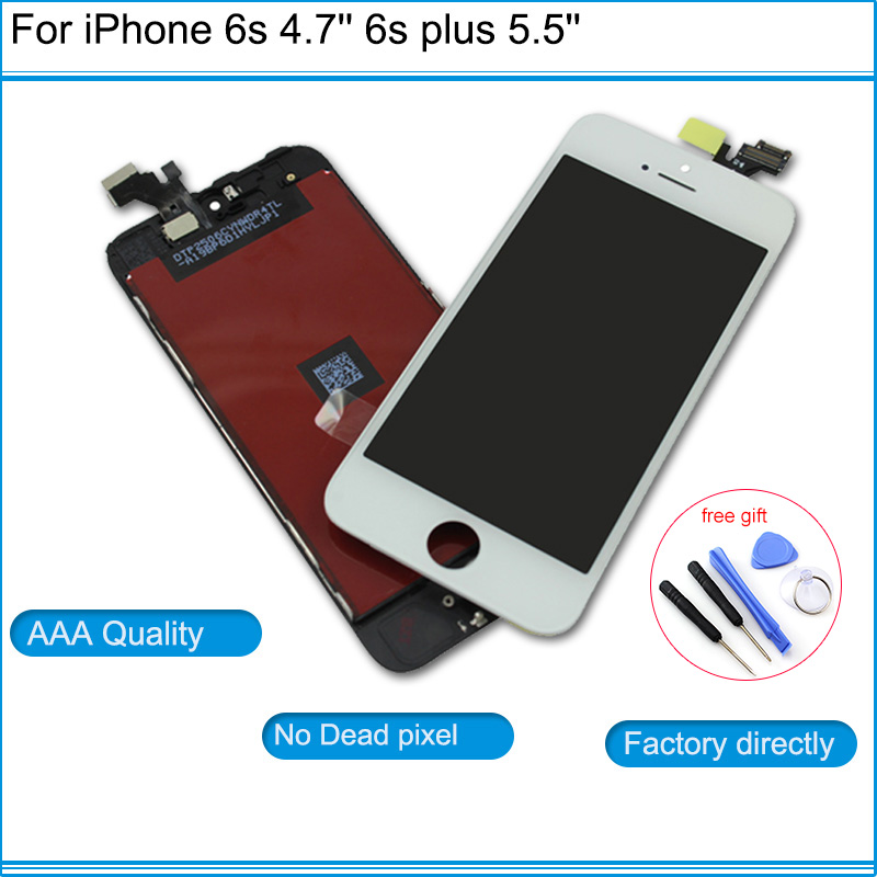 NEw repair parts AAAA Grade LCD Touch Screen Digitizer Assembly Front Screen LCD Display Replacement For iPhone 6 6g 6 plus