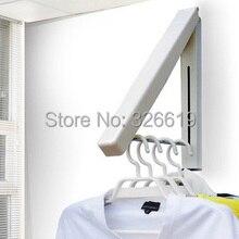 Meubles de salon portemanteau meubles de maison multifonctionnel mode cintres muraux pliant support de séchage portemanteau