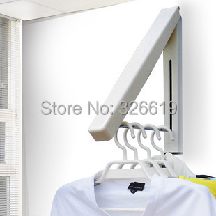 Living Room Furniture Coat Rack Home Furniture Multifunctional Fashion Wall Hangers Folding Drying Rack Coat Rack