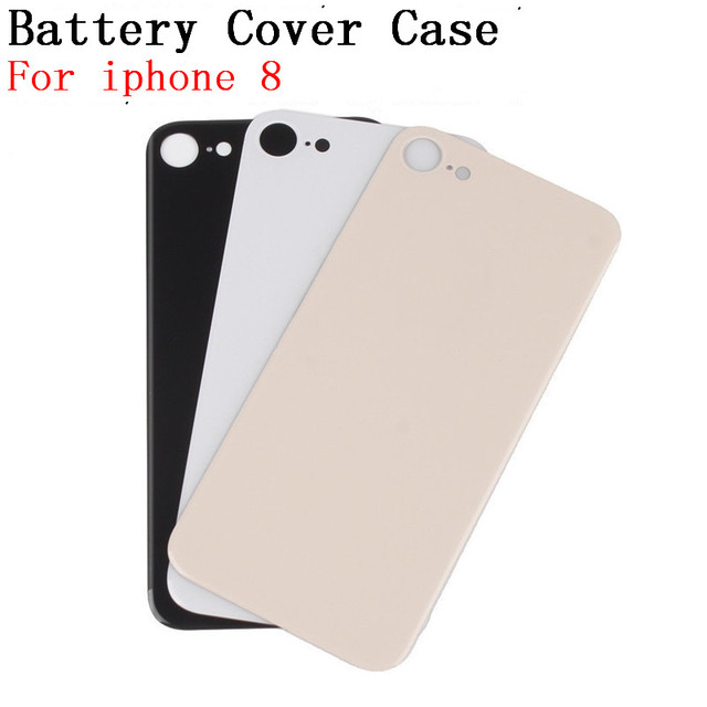 brand new fe010 157f2 US $4.68 |RTBESTOYZ For iphone8 Back Cover Case Replacement For iphone 8  Rear Glass Battery Door Housing + Adhesive Sticker-in Mobile Phone Housings  ...