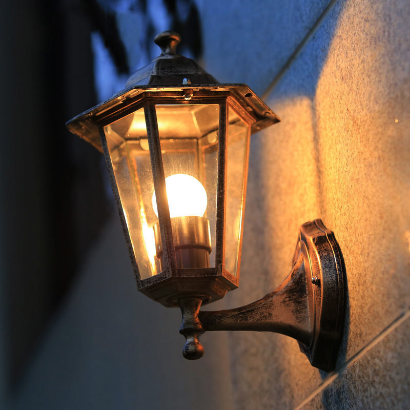 Retro Outdoor Lighting