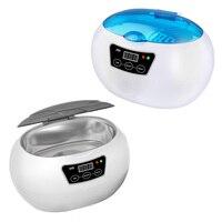 SKYMEN Mini Ultrasonic Cleaner for Jewelry Toothbrush Metal Dental Razor Home Washing Ultrasound Cleaning Machine Timer Bath