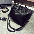 New PU women messenger bags women leather handbags bolsa feminina designer handbags high quality  crossbody bags black
