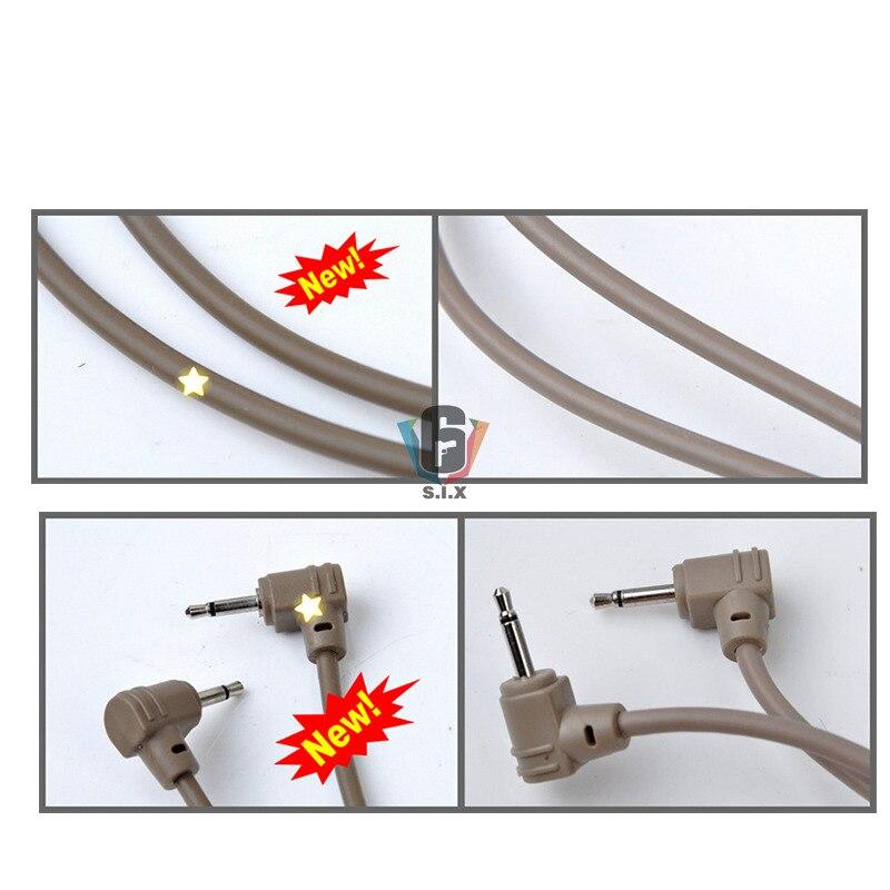 Airsoft tático lanterna duplo interruptor de controle
