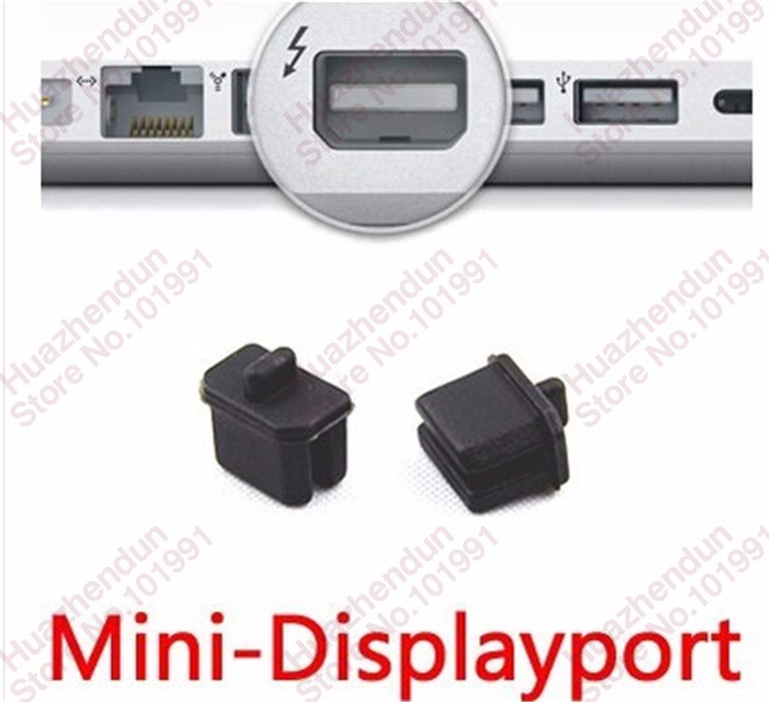 200 шт. новый мини DisplayPort для ДП интерфейс чистой анти пыли разъем пробка черный цвет бесплатная доставка