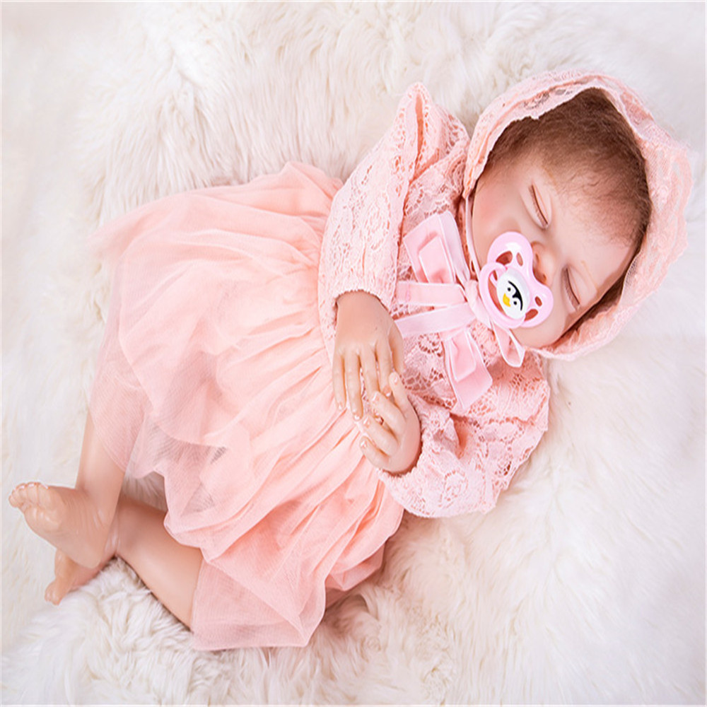 20 inch 50 cm Silicone baby reborn dolls, lifelike doll reborn sleeping doll festival gifts for boys and girls20 inch 50 cm Silicone baby reborn dolls, lifelike doll reborn sleeping doll festival gifts for boys and girls