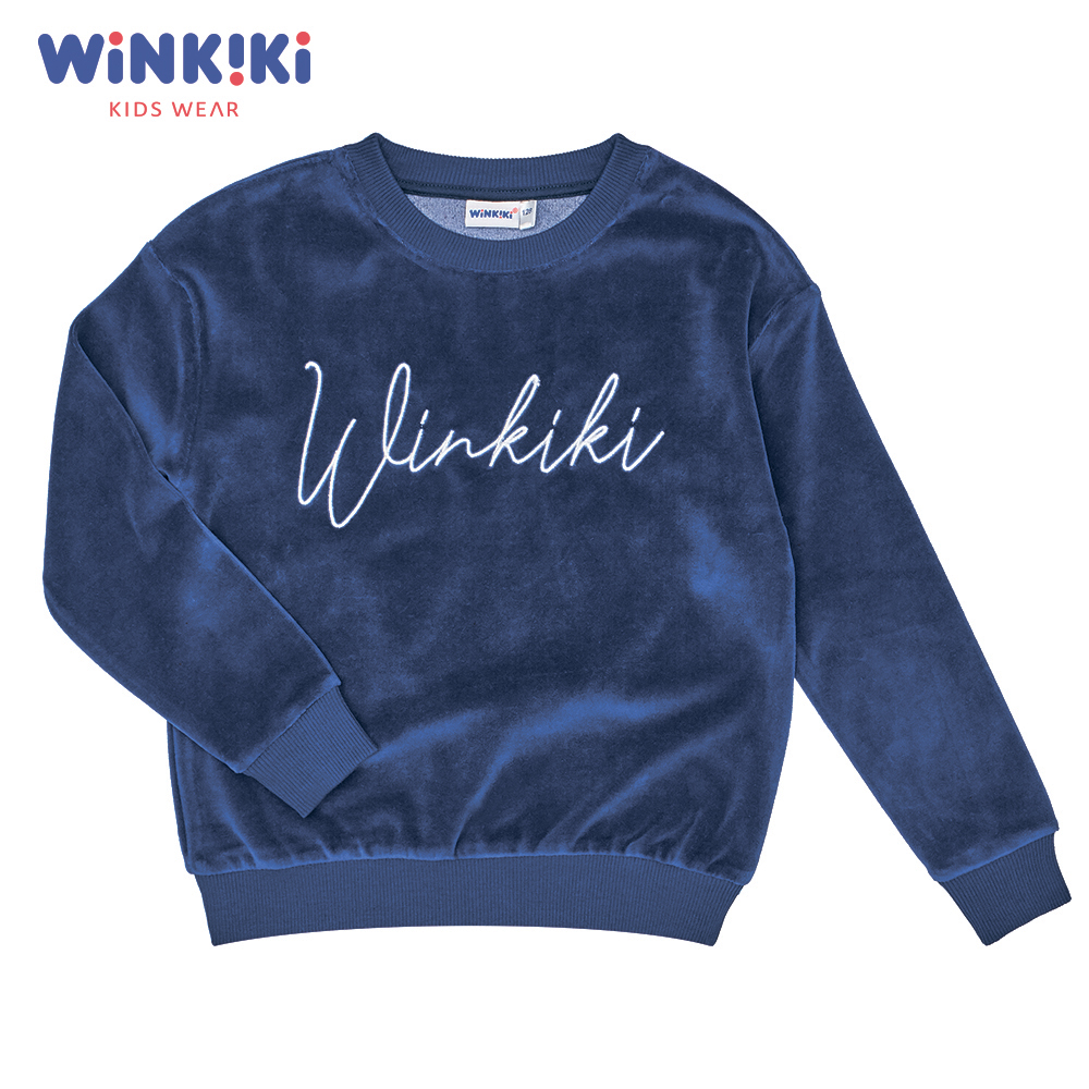 цена на Hoodies & Sweatshirts Winkiki WJG91410 children clothing kids Cotton Pink Girls Casual