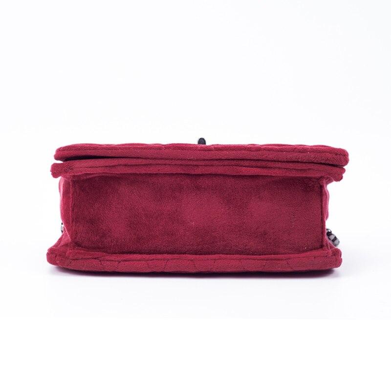 designer de embreagem camurça veludo Estilo 1 : Women Messenger Bag