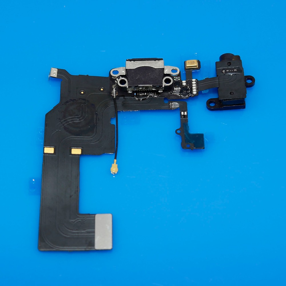 Jing Cheng Da New for iPhone 5C Headphone Audio Jack Dock Charger Charging Connector Flex Cable Ribbon
