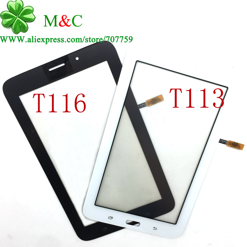 OGS T113 T116 Touch Panel for Samsung Galaxy Tab 3 Lite SM-T113 T116 Touch Screen Digitizer Panel With Tracking