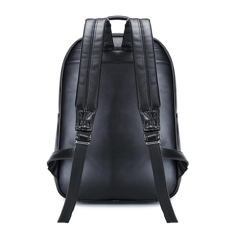 Sac pour femme mode sport PU cuir sac à dos mignon 3D hibou Animal tête étudiant sac d'ordinateur grand espace Zip voyage sacs à dos - 6
