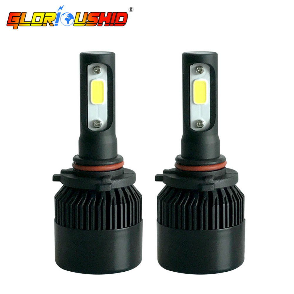 72W 8000LM Led Fog Light 9005 HB3 H10 Car LED Headlight 6500k Auto - Car Lights