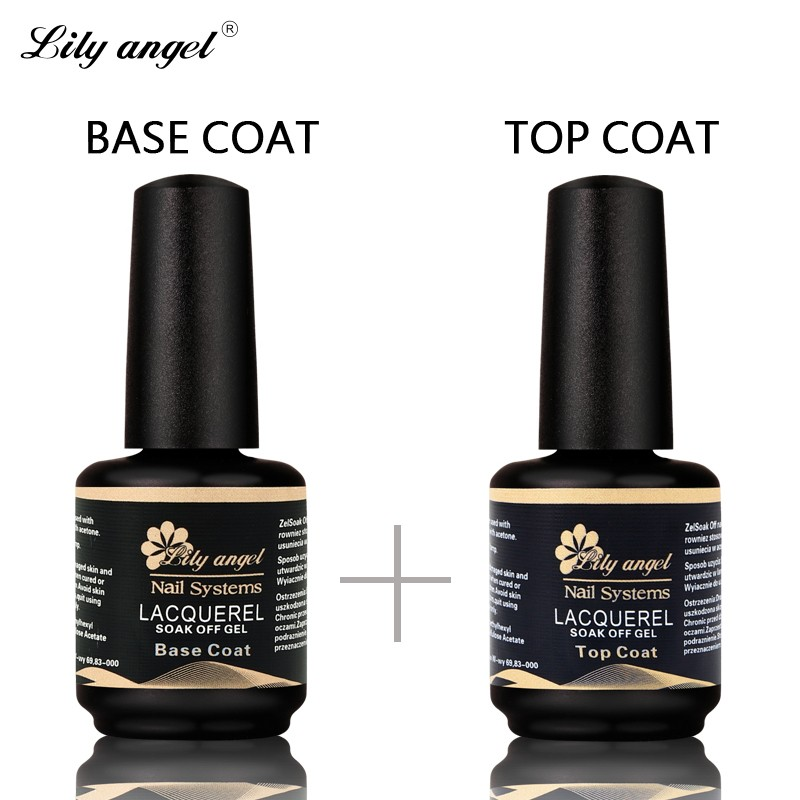 Lelie engel professionele 15ml gelpolish nagelbasis coat top coat los gelvernis lakken uv gel nagel primer in nail art