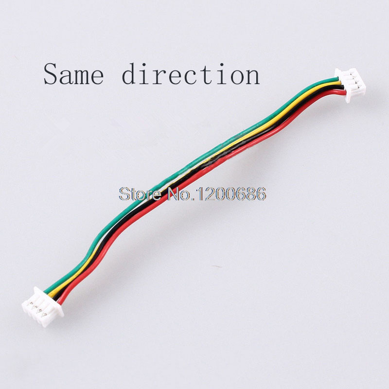 10 SETS 2P/3P/4P/5P/6 Pin JST 1.25MM Female Double Connector with Wire 150MM 1007 28 AWG JST1.25 34um95c p