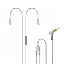 Tennmak Upgrade Silver Plated MMCX Cable with Microphone and Remote for Tennmak PRO,TRIO,SHURE SE215 SE315 UE900  Clear Color