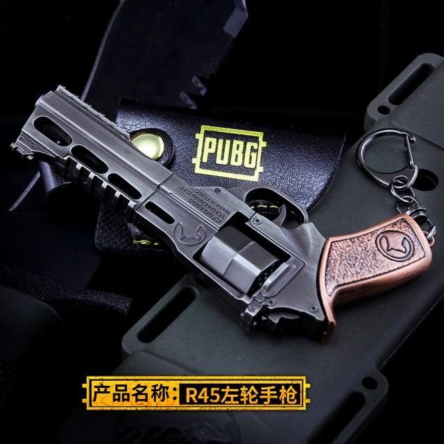 PUBG R45 Game Battlegrounds 3D Gun Keyring