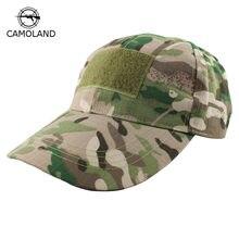 CAMOLAND Men Baseball Cap Camouflage Men Women Snapback Tactical Hat Camo  Army Training Summer Outdoor Sniper Adjustable Visor 73fb27b4c4d0