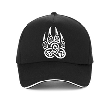 Amulet Viking Slavic God Symbol Warding Veles Bear Paw with lucky cap Men Women Brand Baseball gorra hombre snapback