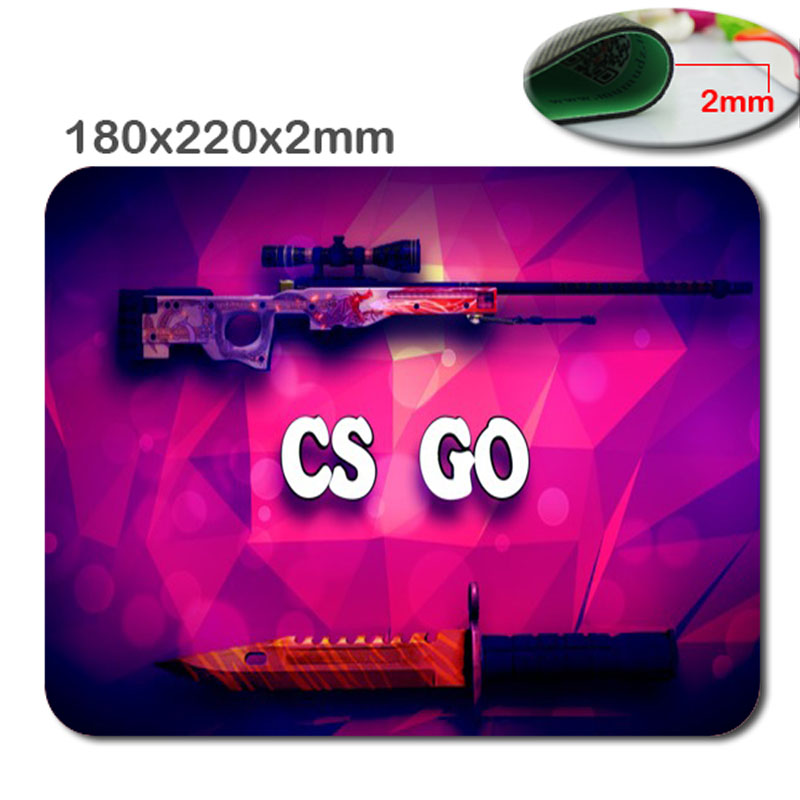 Us 231 8 Offcustom Counter Strike Global Offensive Wallpaper Gaming Rectangle Silicon Durable Mouse Pad Computer Mouse Mat 220x180x2mm In Mouse