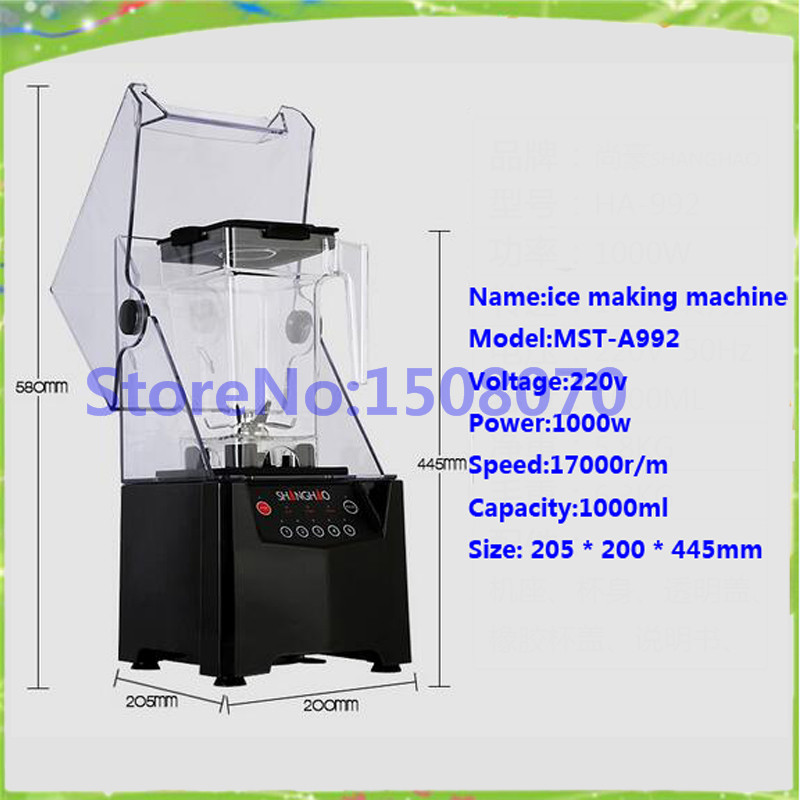discount Trending Products Commercial Electric Ice Shaver Snow Cone Maker Ice Crusher Machine Factory Price