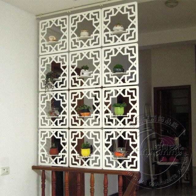 Holz Dekorative Zimmer Partitionen Biombo Zimmer Trennwand