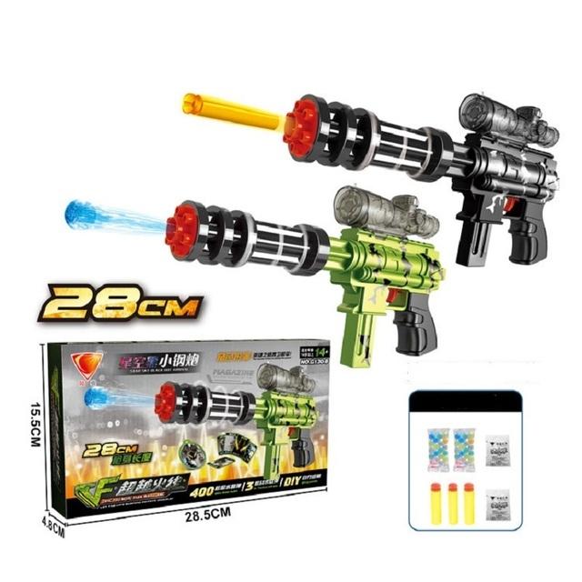 Ametralladoras de Juguete para niños Para Niños Juegos de Agua Absorben Agua Bala Cristal Ametrallador Juegos de Pistolas de Juguete Para Niños Deportes W072