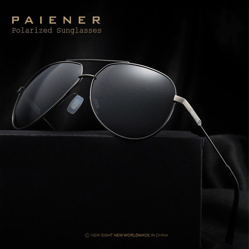 Los hombres de magnesio de aluminio polarizado Gafas de sol masculino  clásico marca diseñador Sol gafas c207d64b5e5a