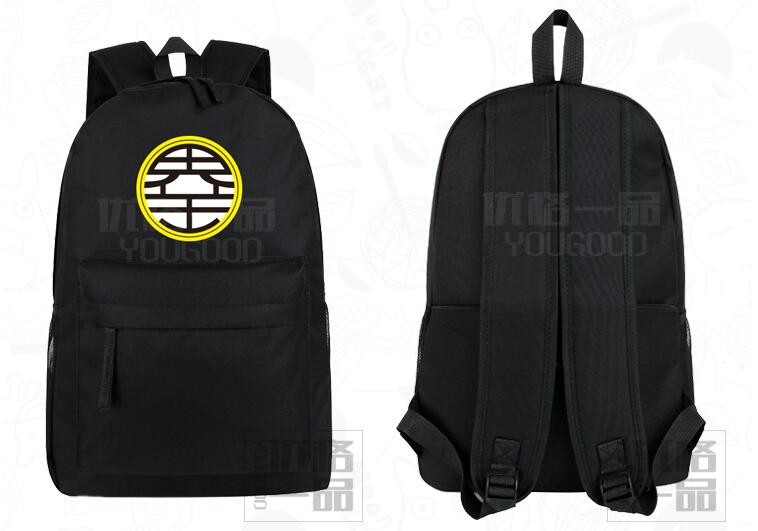 Hot Anime Dragon Ball cos canvas Shoulders backpack Korean casual logo printing bag College schoolbagsHot Anime Dragon Ball cos canvas Shoulders backpack Korean casual logo printing bag College schoolbags