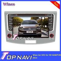 WANUSUAL Wince Car DVD Multimedia Player for VW MAGOTAN 2013 2014 2015 2016- Autoradio GPS Navigation Audio Stereo