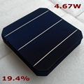 4.67W 156mm 3BB Monocrystalline Solar Cell A grade 200pcs 19.4% Solar Plate Cell 6x6 for DIY Solar Panel, 100% Quality Guarantee