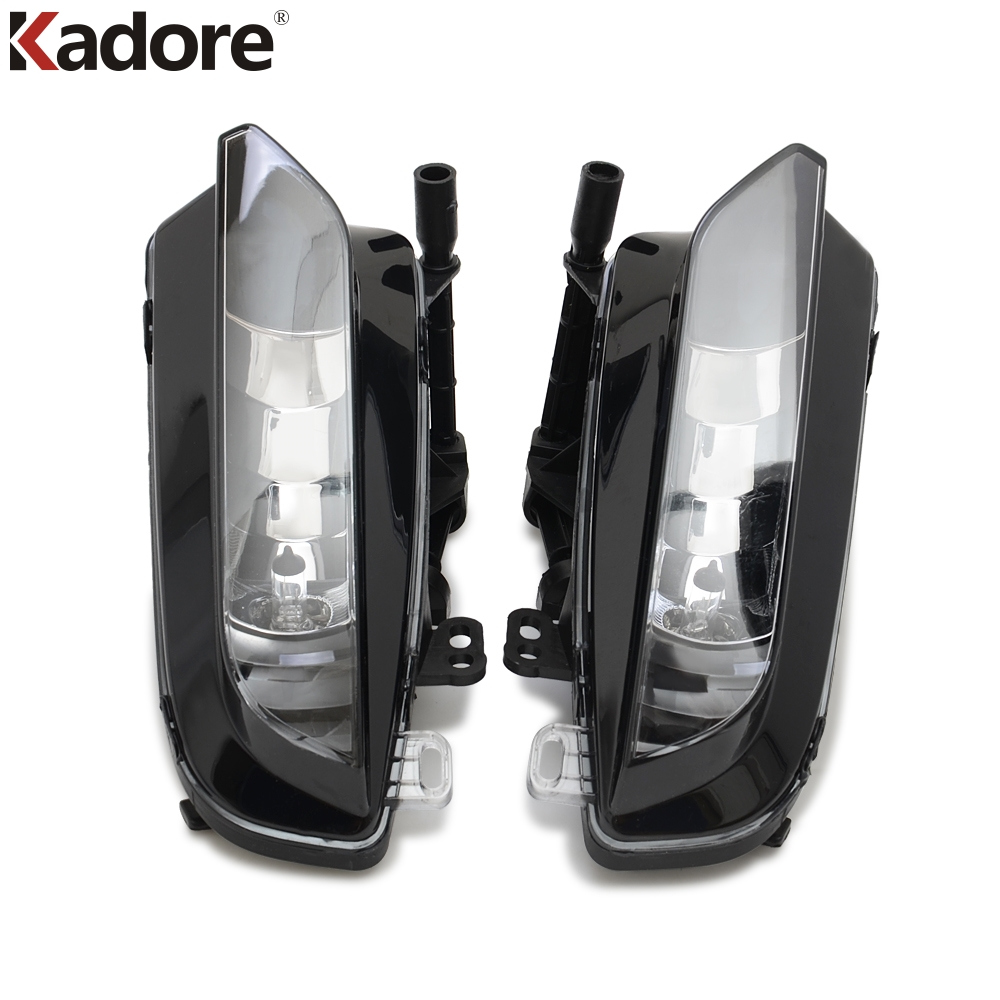 For Audi A3 QUATTRO Sedan 2015 2016 Left & Right Side Front Bumper Fog Light Lamps Halogen Grille LED Foglights Car Accessories коробка передач audi 80 quattro б у куплю в донецкой области