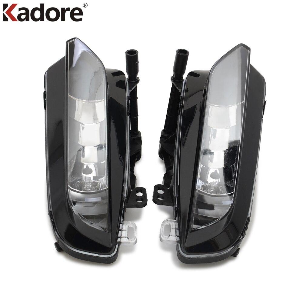 For Audi <font><b>A3</b></font> QUATTRO Sedan 2015 2016 Left & Right Side Front Bumper Fog Light Lamps Halogen Grille LED Foglights Car Accessories