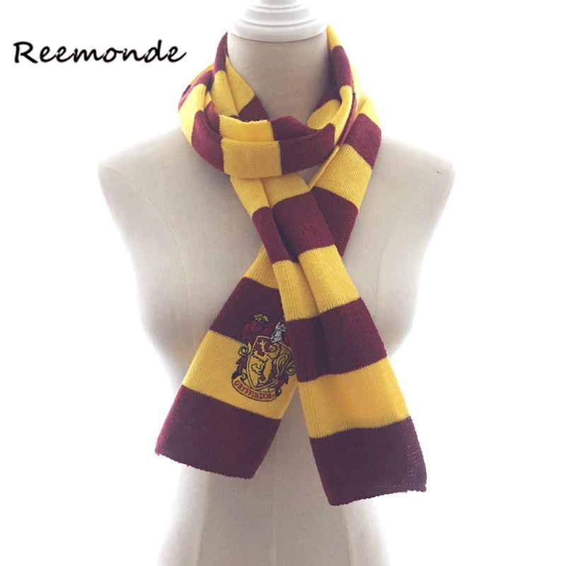 Reemonde Hermine Schal Gryffindor Slytherin Hufflepuff Ravenclaw Schals Hermine Halstuch Für Frauen Männer Jungen Und Mädchen Attraktives Aussehen