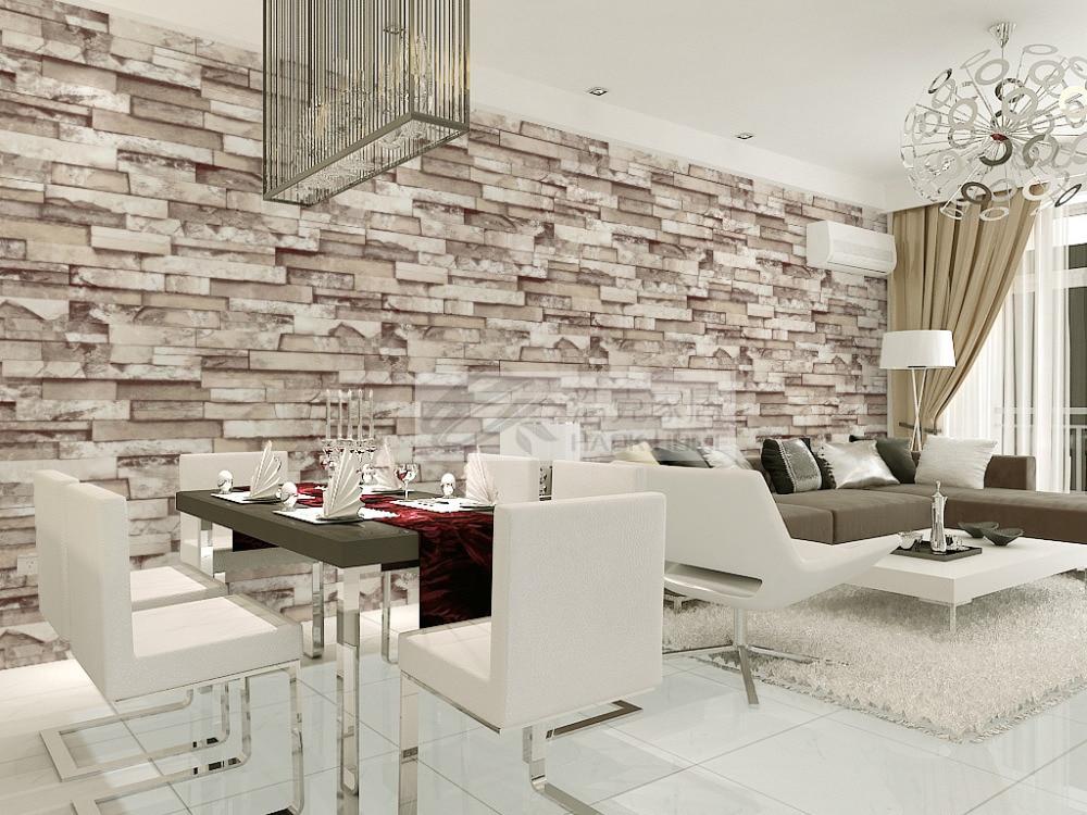 tienda online apilados ladrillo piedra d wallpaper moderno de paredes pared de ladrillo papel tapiz de fondo gris para sala de estar