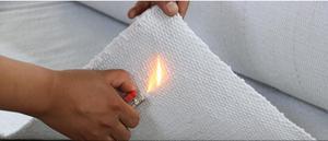 Высокотемпературный 1260 ℃ огнеупорный материал из керамического волокна, огнеупорное покрытие, ткань. Коврик, теплоизоляция