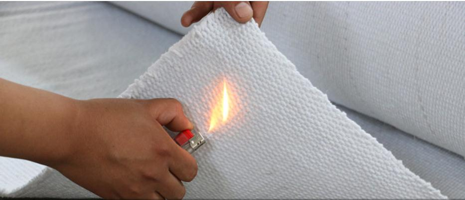 High Temperature 1260 ℃ Ceramic Fiber Fire Retardant Material, Fireproof Material,cloth.