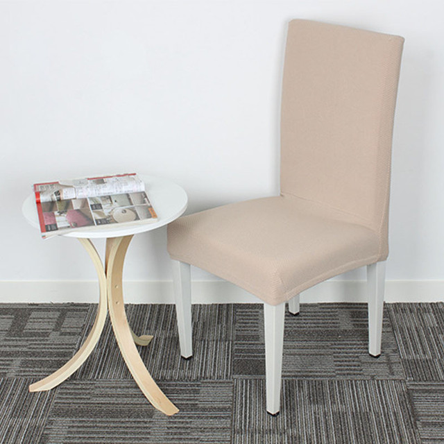 quality dining room chair covers office outlet high cross back kitchen seat decoration stretch slipcover protector v49