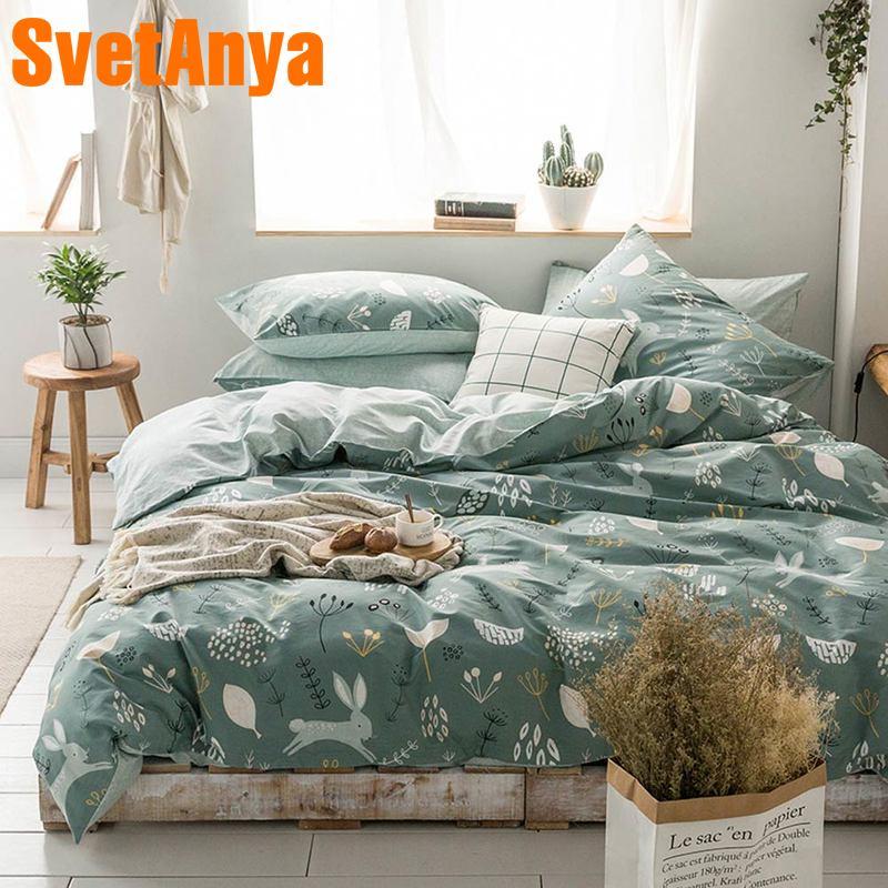 Svetanya Cotton Duvet Cover Bedsheet Bedding Sets