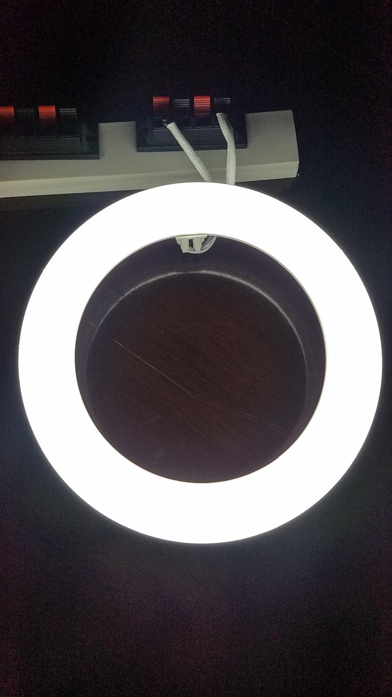 Compra led tubo de la l mpara circular online al por mayor - Tubo fluorescente redondo ...
