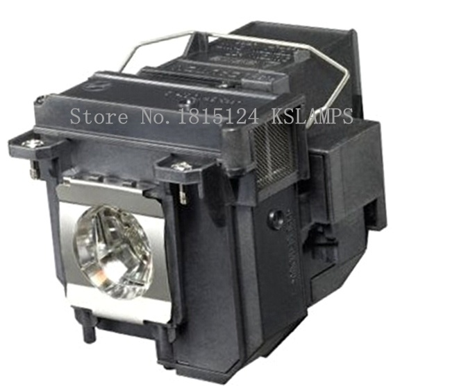 KSLAMPS ELPLP71 / V13H010L71 Replacement Lamp with Housing for Epson Projectors kslamps elplp56 v13h010l56 replacement lamp with housing for epson 60 62 epson eh dm3 projectors