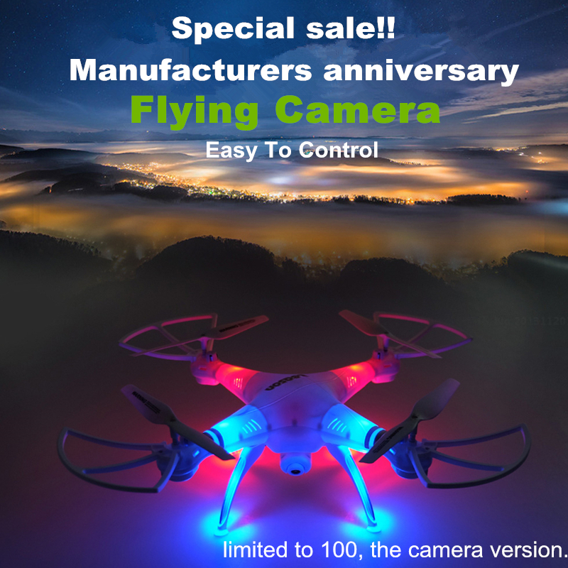 Special sale Professional Dron Toys RC Helicopter Drone Quadcopter HD Camera RTF font b Remote b