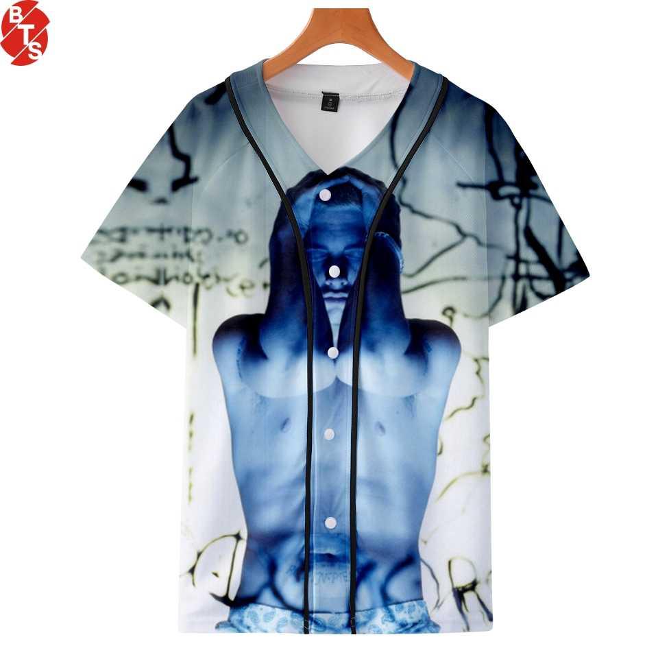 EMINEM famoso rapero 2018 3D imprimió camisetas mujeres hombres Hip Hop  manga corta Camisetas moda 77db3fee0d7