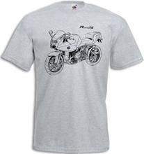 2019 mode R1200S T-Shirt mit Grafik R 1200 S Motorcycyle Rally R 1200 S