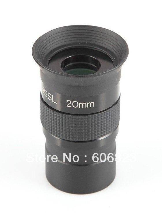 """1,2"""" 1,25 дюймов Plossl 20 мм многослойный окуляр объектив 4 астрономический телескоп"""